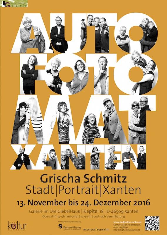 Plakat und Postkarte - Fotoausstellung
